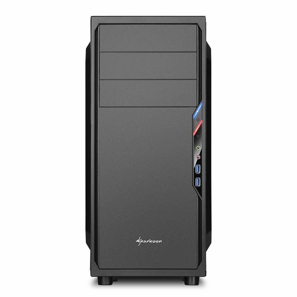 新品ケース 自作Sharkoon i7-2600 3.40GHz x8スレッド 16GB■SSD120GB+大容量HDD:2000GB Windows10 Pro Office2016 HD 5700_画像2