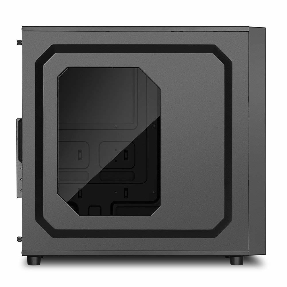 新品ケース 自作Sharkoon i7-2600 3.40GHz x8スレッド 16GB■SSD120GB+大容量HDD:2000GB Windows10 Pro Office2016 HD 5700_画像3