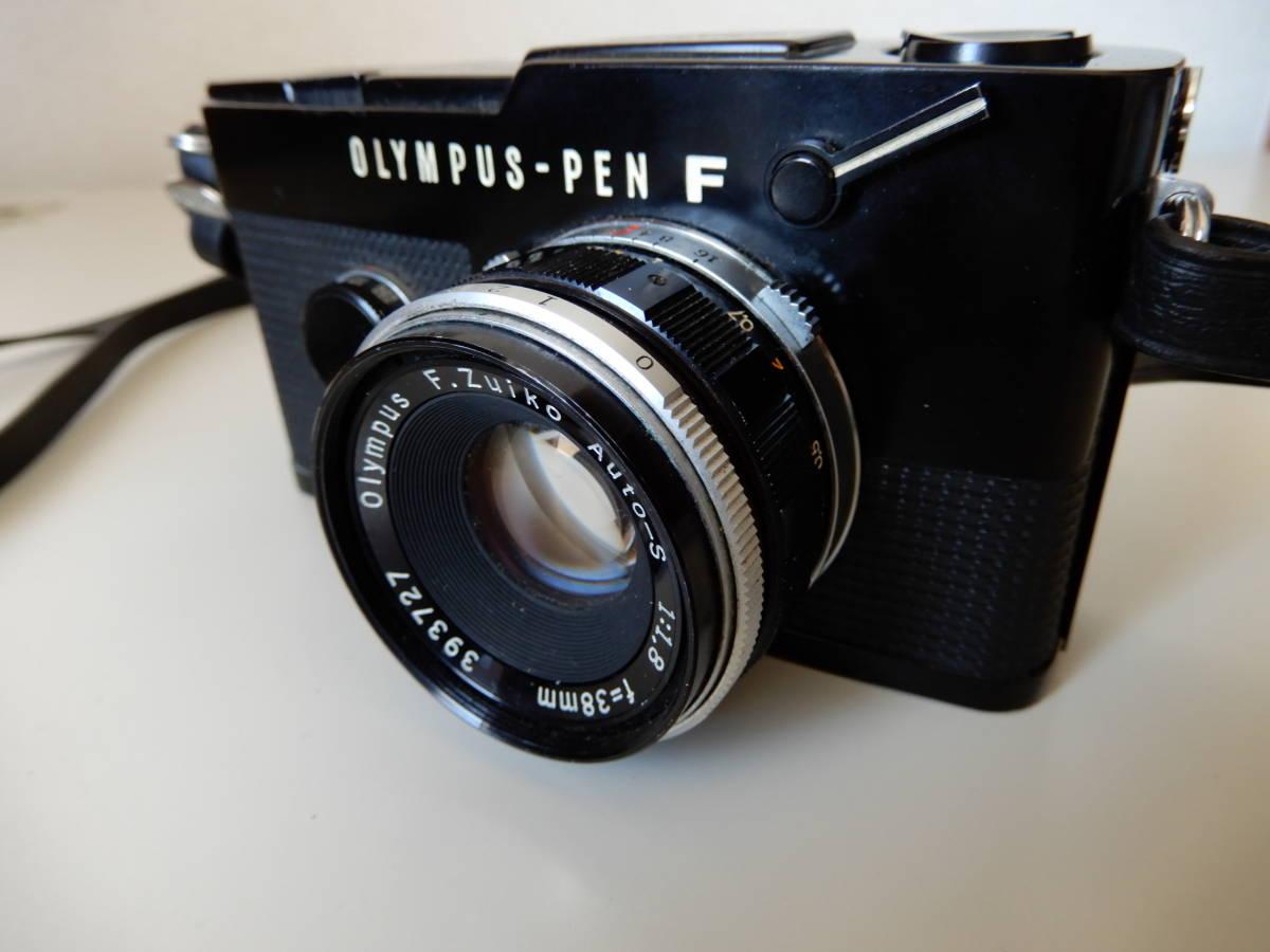 ★☆オリンパス Olympus PEN FT F.ZUIKO Auto-S 38mm 1:1.8☆★_画像2