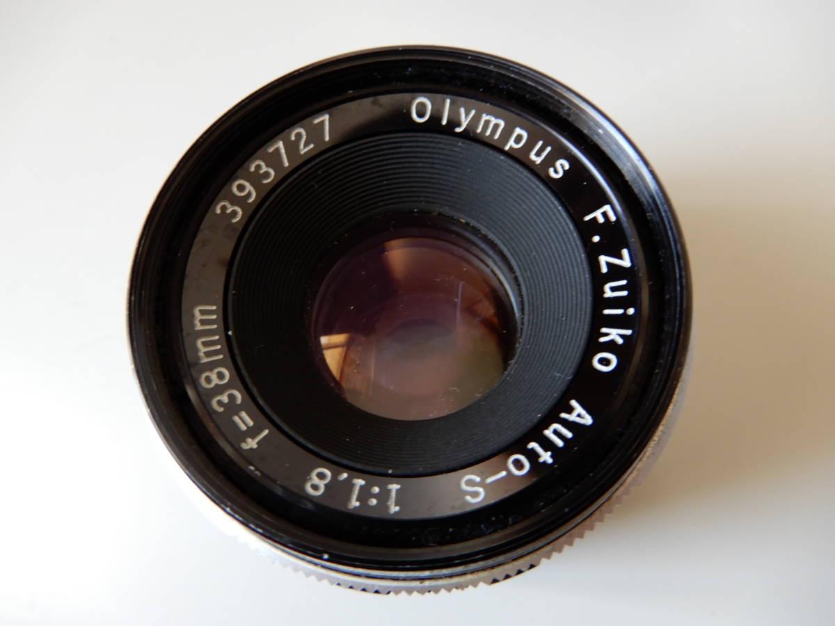 ★☆オリンパス Olympus PEN FT F.ZUIKO Auto-S 38mm 1:1.8☆★_画像7