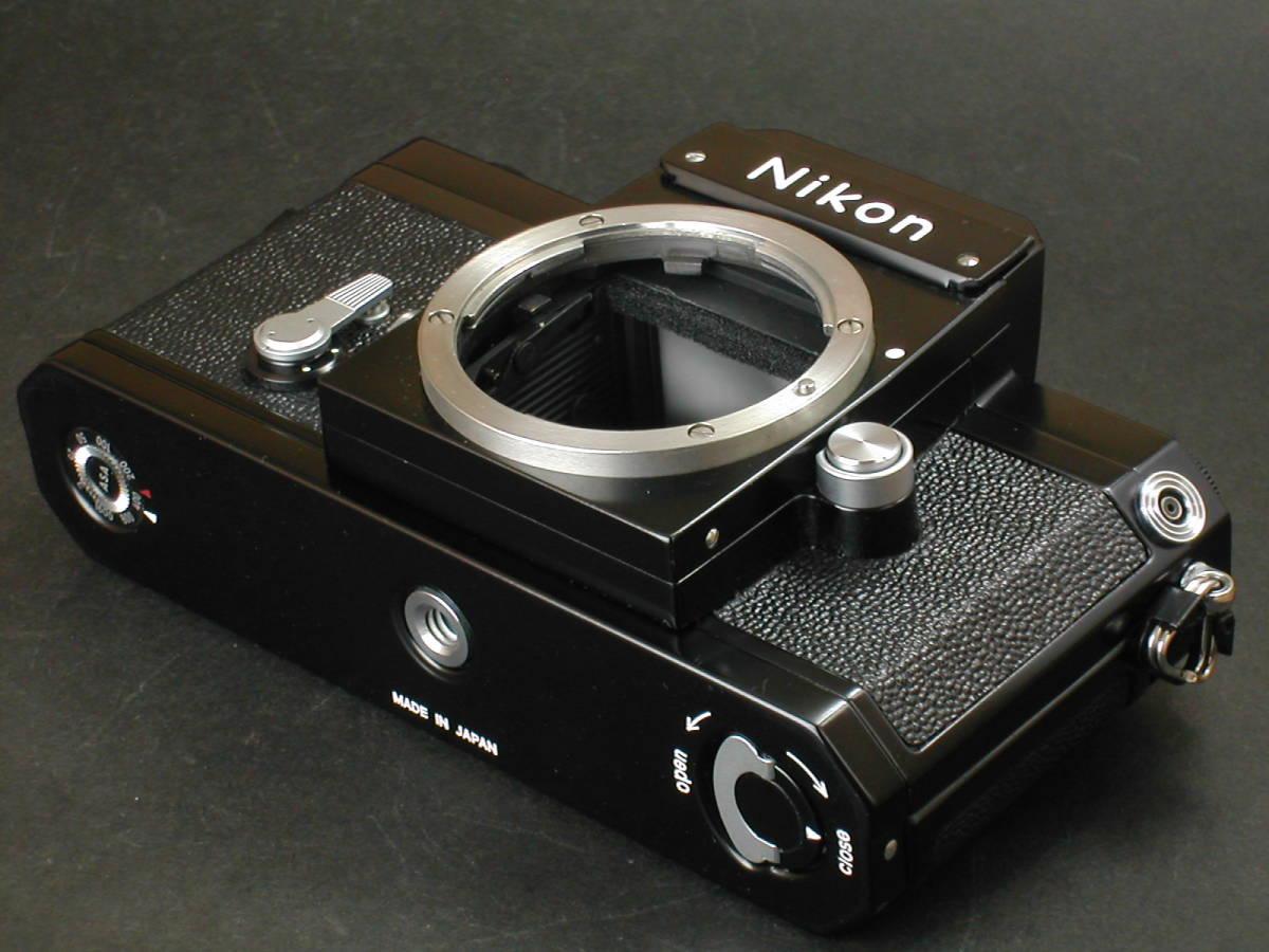 美品 ニコン F ブラック ボデーのみ ニコン nikon_画像4