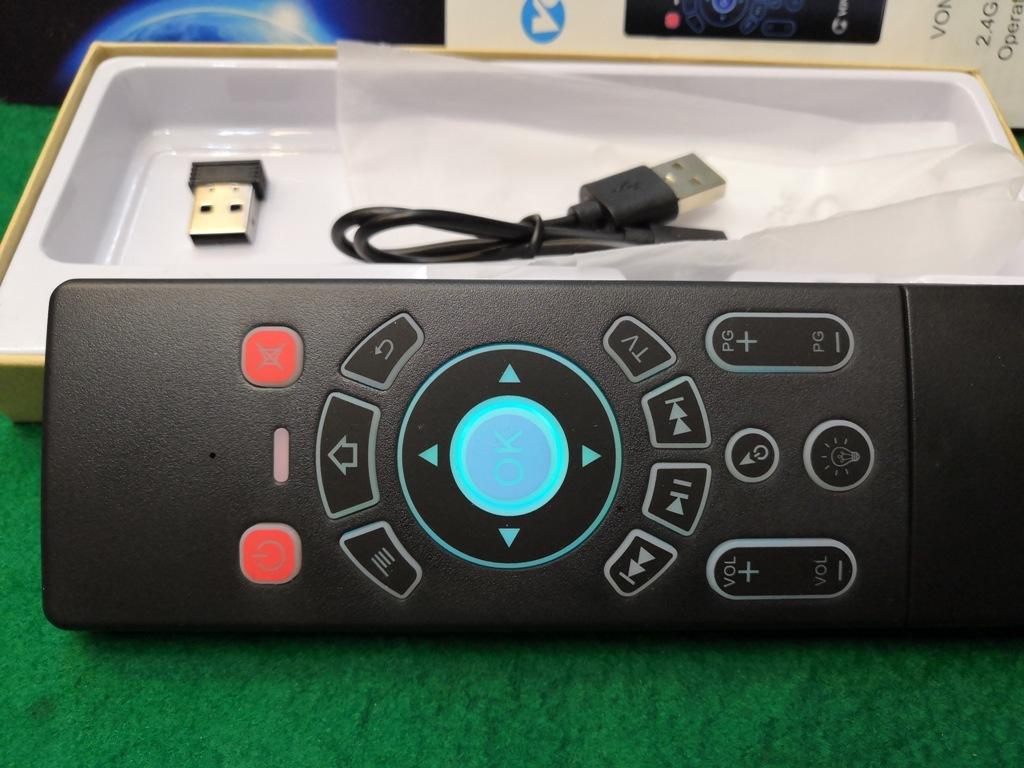 ワイヤレスマウスキーボード・エアーマウス裏側キーボードの両面仕様メーカーVONTAR充電式送料全国一律普通郵便250円_画像5