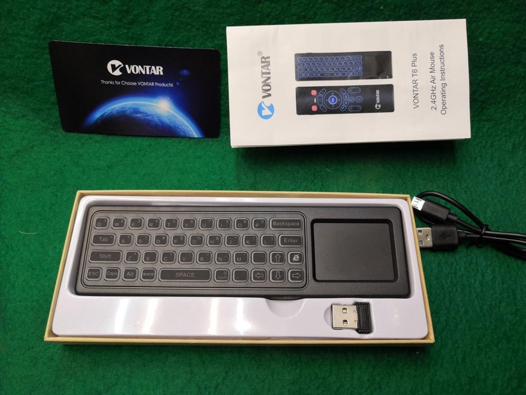 ワイヤレスマウスキーボード・エアーマウス裏側キーボードの両面仕様メーカーVONTAR充電式送料全国一律普通郵便250円_画像10