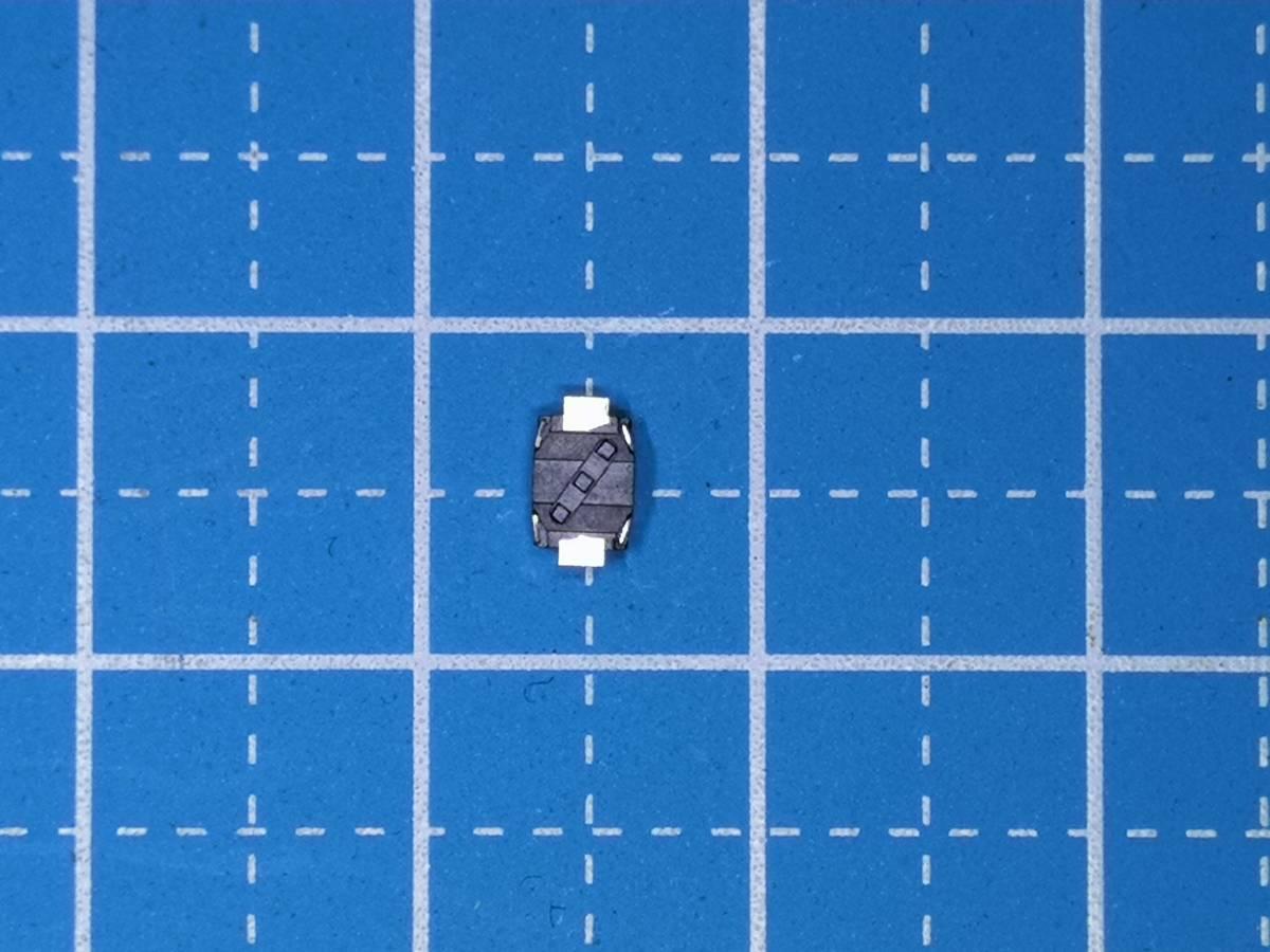 No8 4mm×3mm厚さ2mmタクトスイッチ押している間オン(クリック感有)2個1組送料全国一律普通郵便63円_画像2