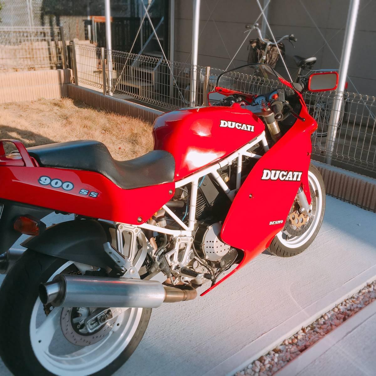 Ducati 900SS 91年式_画像2