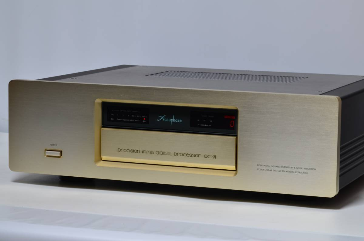 Accuphase DC-91 D/Aコンバーター☆状態良好☆