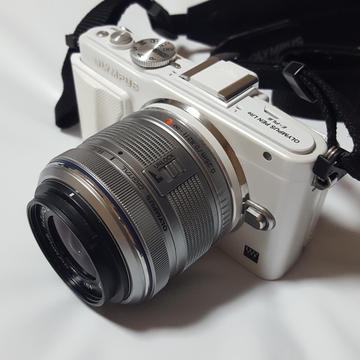 OLYMPUS PEN Lite E-PL6 デジタル一眼カメラ 14-42mm 1:3.5-5.6 Ⅱ R ジャンク 拍卖