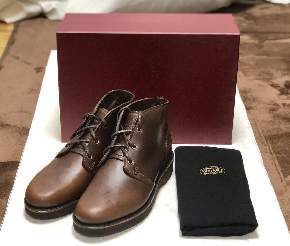 ★新品★ 高額モデル!! ウルヴァリン 1000マイル PALMER 25.5cm 7.5D / WOLVERINE ブーツ 靴 送料無料 メンズ W40200 016