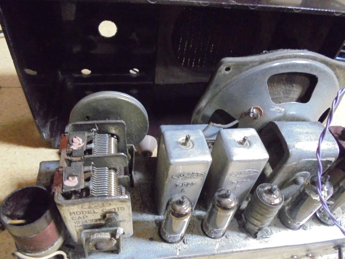 シャープ真空管レトロラジオ 5Pシリーズ 5P-11 _画像7
