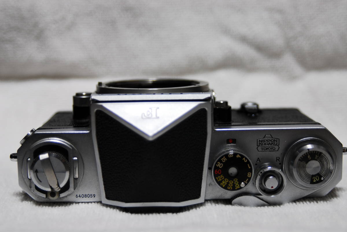 Nikon F アイレベル 640番台(ジャンク)_画像3
