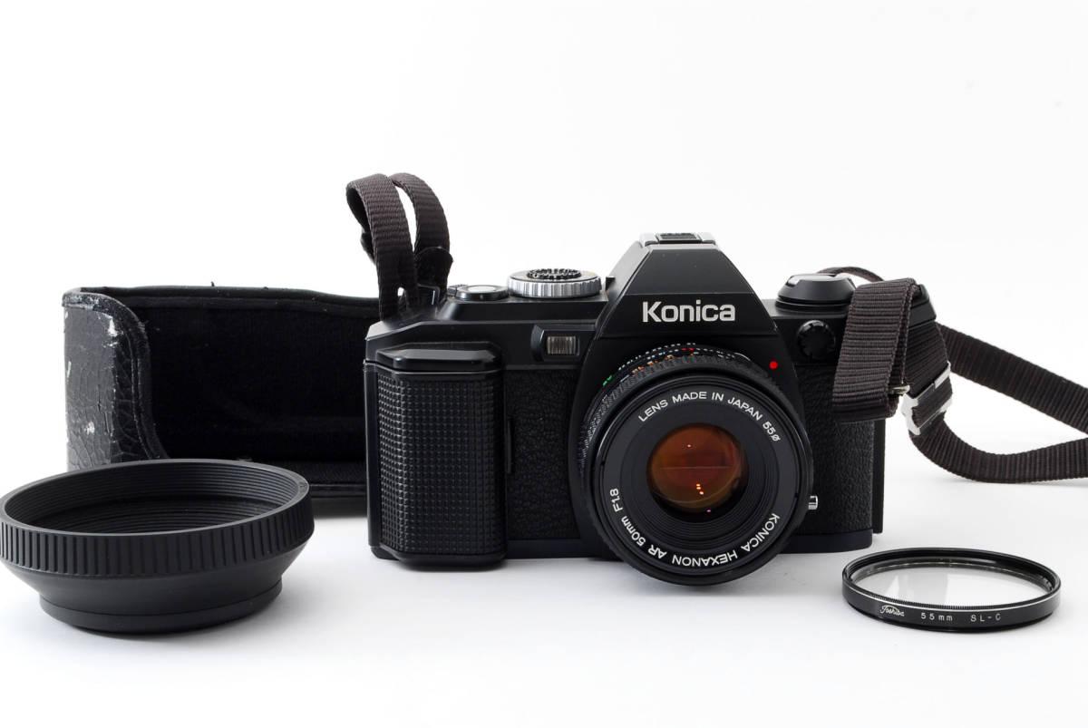 コニカ Konica FS-1 カメラ HEXANON AR50mmF1.8 レンズ_画像1