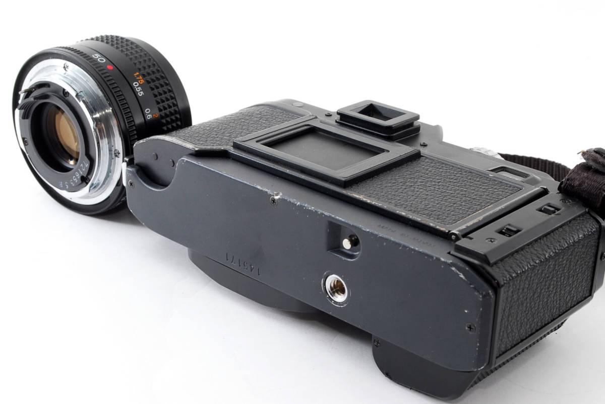 コニカ Konica FS-1 カメラ HEXANON AR50mmF1.8 レンズ_画像4