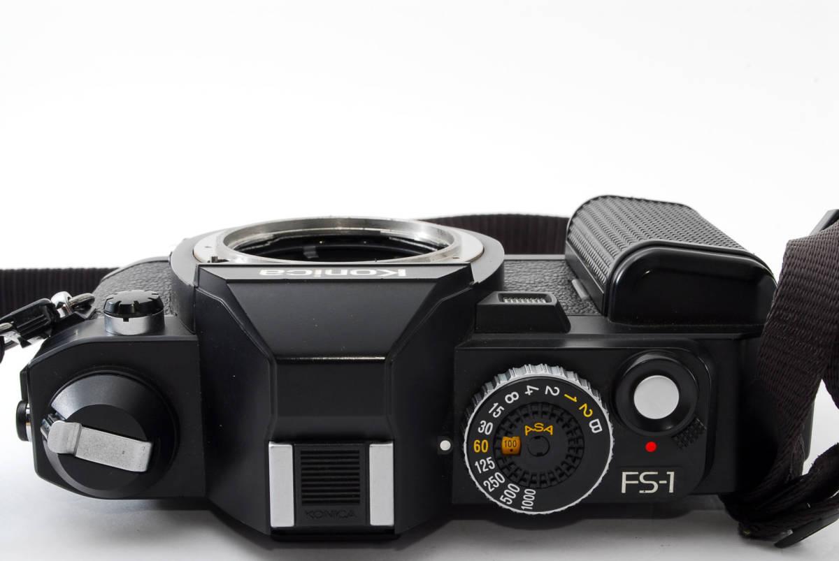 コニカ Konica FS-1 カメラ HEXANON AR50mmF1.8 レンズ_画像8