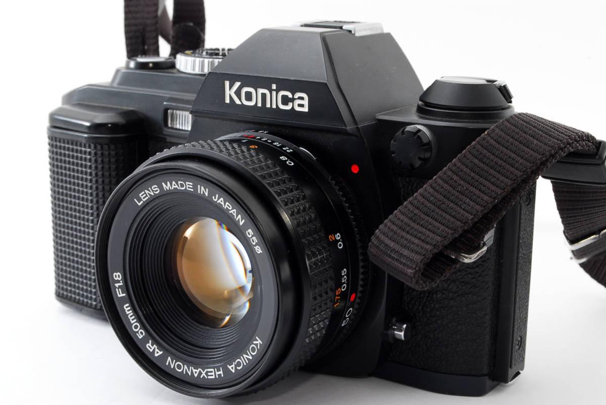 コニカ Konica FS-1 カメラ HEXANON AR50mmF1.8 レンズ_画像2