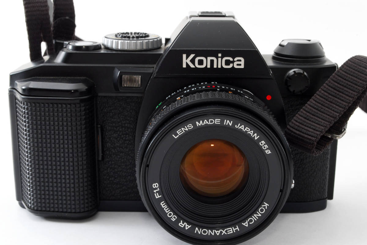 コニカ Konica FS-1 カメラ HEXANON AR50mmF1.8 レンズ_画像3