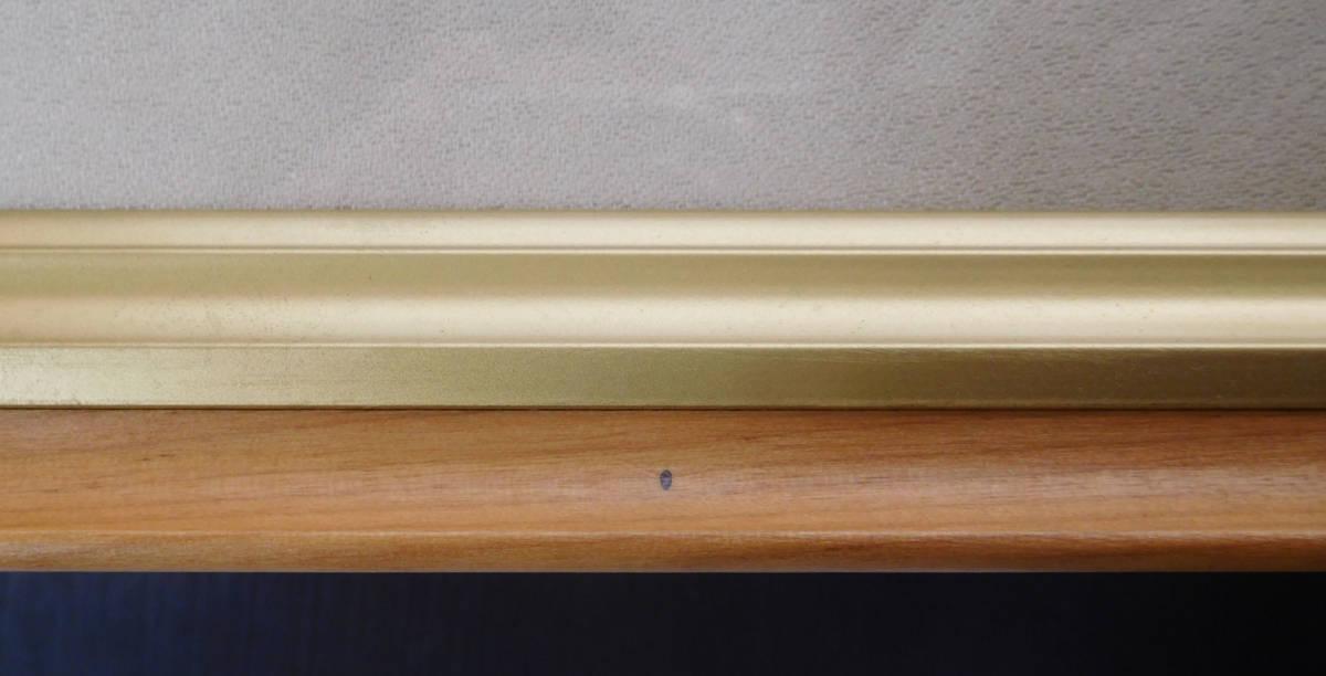日本画用額 油絵用額 油彩画用額 M8サイズ 茶 _画像4