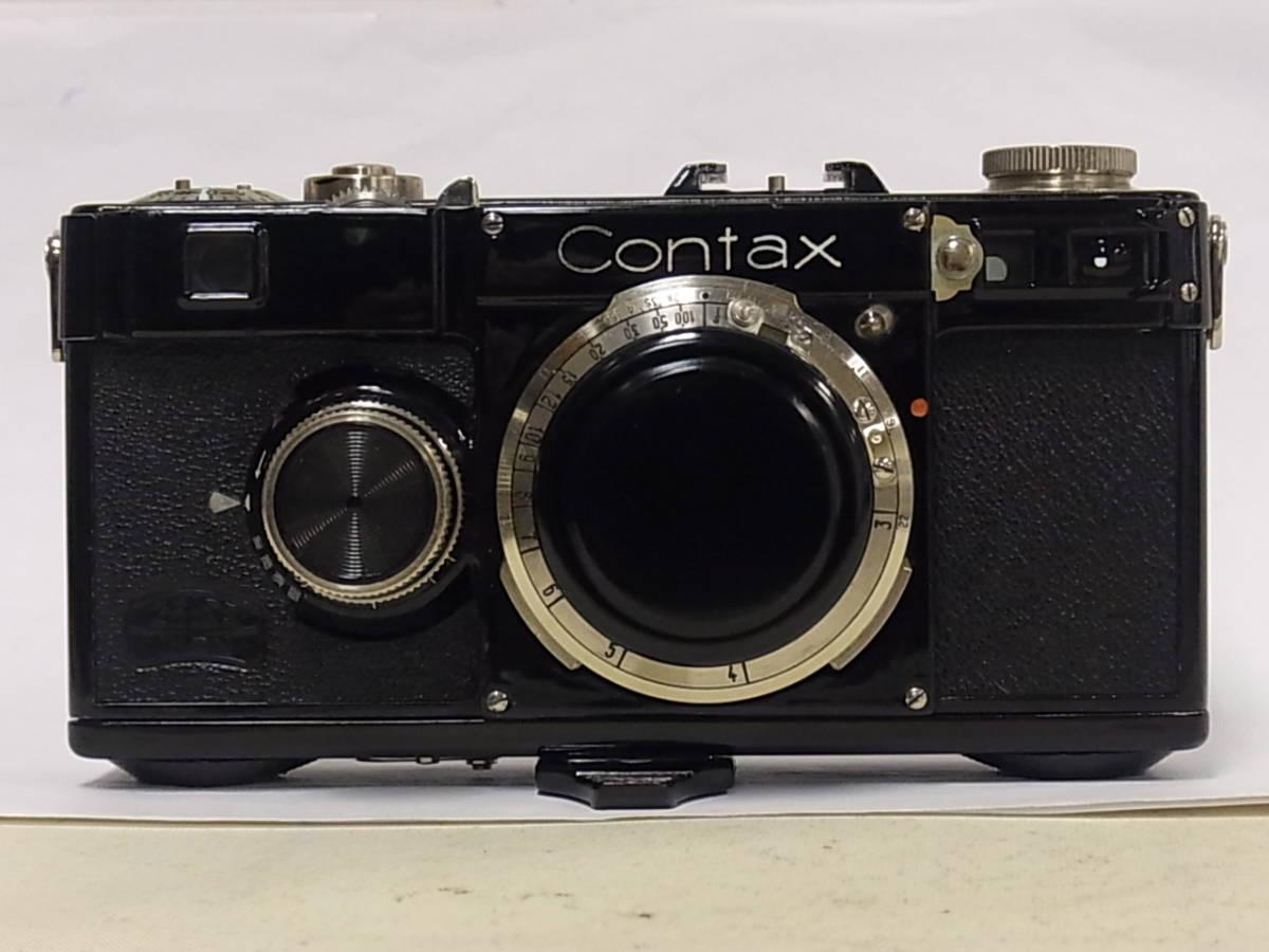 コンタックス CONTAX ZEISS IKON ContaxⅠ型 ボディ Zeiss Ikon A-G Dresden_画像2