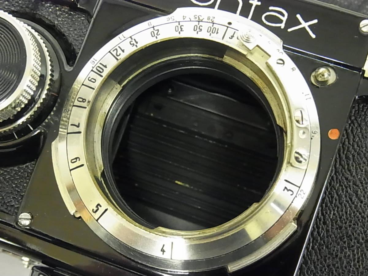 コンタックス CONTAX ZEISS IKON ContaxⅠ型 ボディ Zeiss Ikon A-G Dresden_画像9