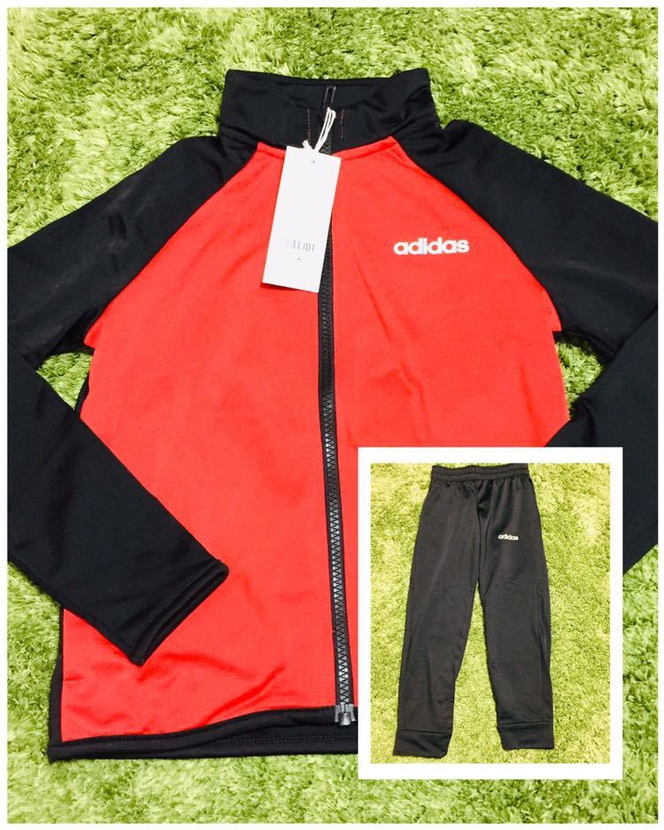 9e01af53ac717 代購代標第一品牌- 樂淘letao - adidas アディダスkids 120 キッズ新品上下ジャージセット