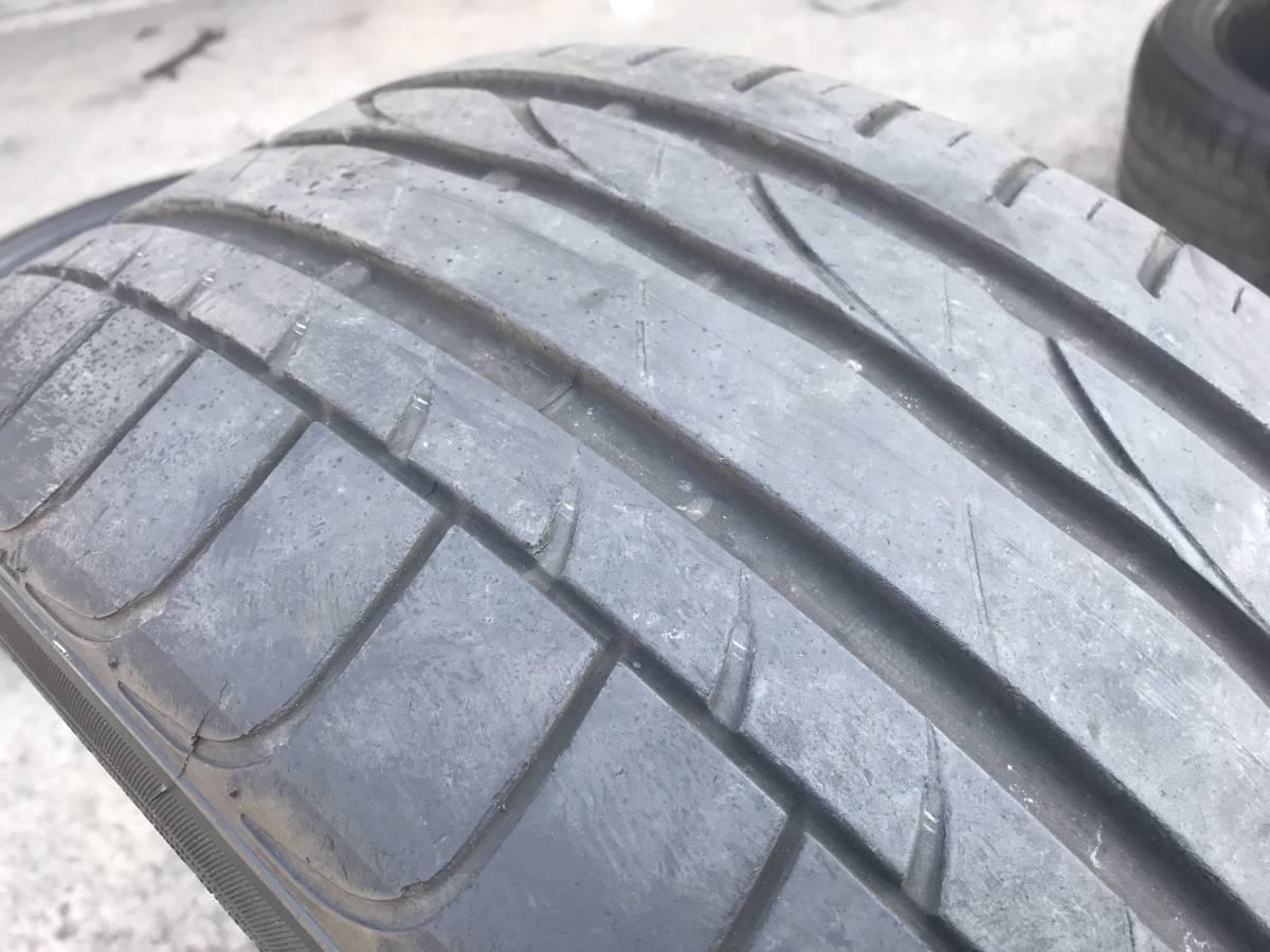 245 / 40 R 19 中古 タイヤ 4本 2015年製造 BRIDGESTONE TURANZA ※直接引取り可_画像6