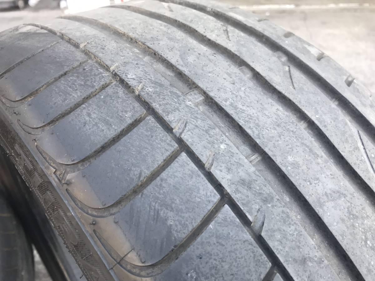 245 / 40 R 19 中古 タイヤ 4本 2015年製造 BRIDGESTONE TURANZA ※直接引取り可_画像7