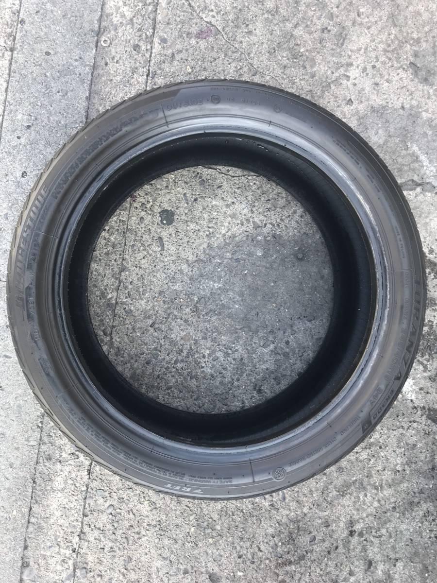 245 / 40 R 19 中古 タイヤ 4本 2015年製造 BRIDGESTONE TURANZA ※直接引取り可_画像4