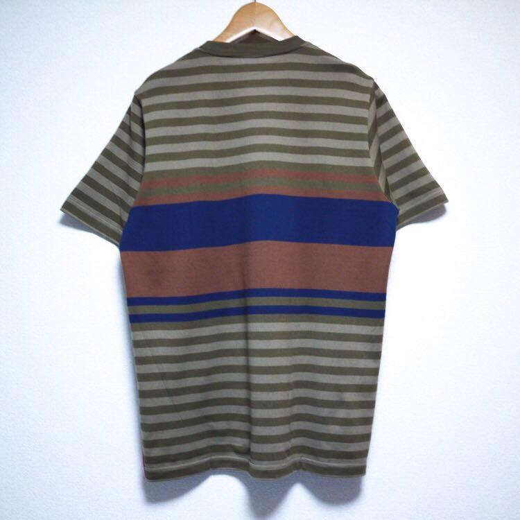 Whiz Limited Border T-Shirts Lサイズ ウィズ リミテッド ボーダー Tシャツ パネルボーダー LUMP TOKYO_画像2