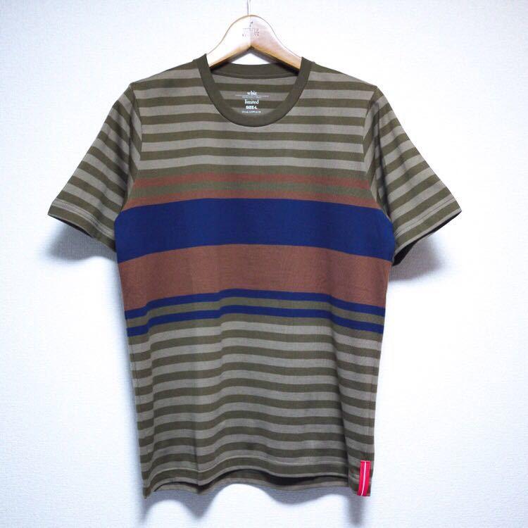 Whiz Limited Border T-Shirts Lサイズ ウィズ リミテッド ボーダー Tシャツ パネルボーダー LUMP TOKYO