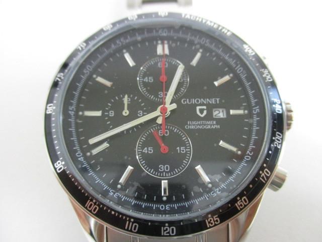 9ee303e161 代購代標第一品牌- 樂淘letao - 31KFN 新品GUIONNET ギオネ腕時計FLIGHT TIMER CHRONOGRAPH フライトタイマー タキメータークロノグラフFC42SBK