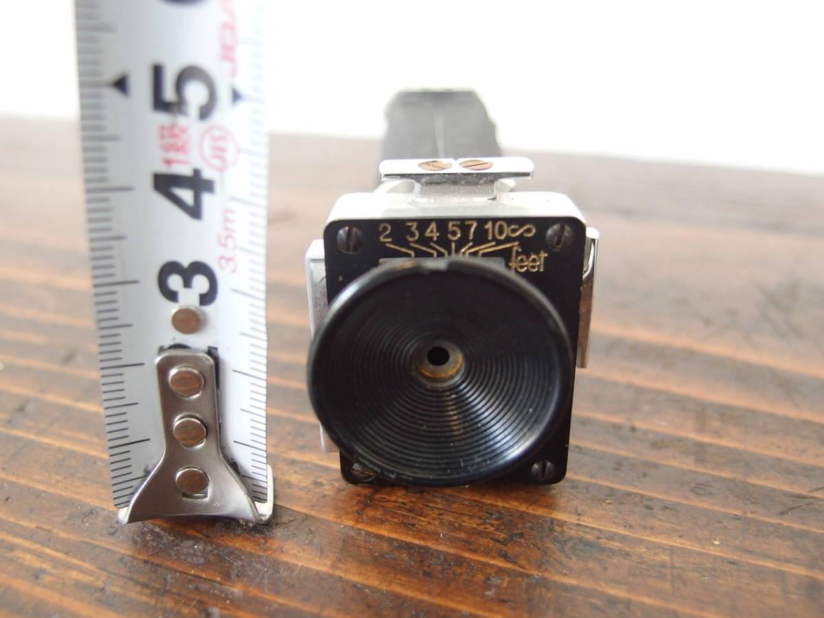 fB0011 ズームファインダー フィルムカメラパーツ ① レトロ ※ジャンク_画像2