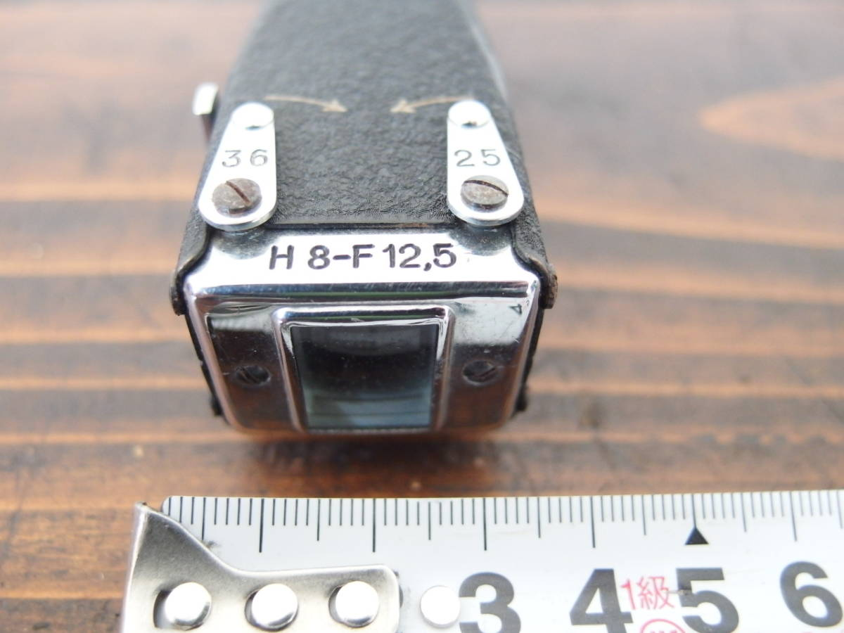 fB0011 ズームファインダー フィルムカメラパーツ ① レトロ ※ジャンク_画像4
