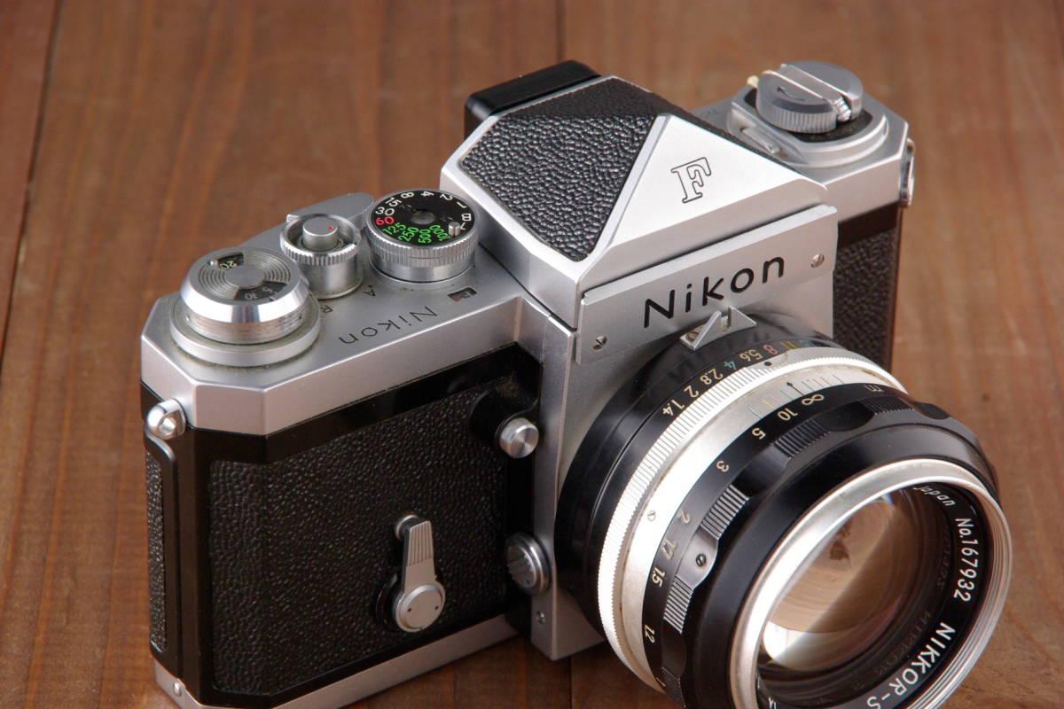 ニコンF アイレベル  5.8cmF1.4_画像3