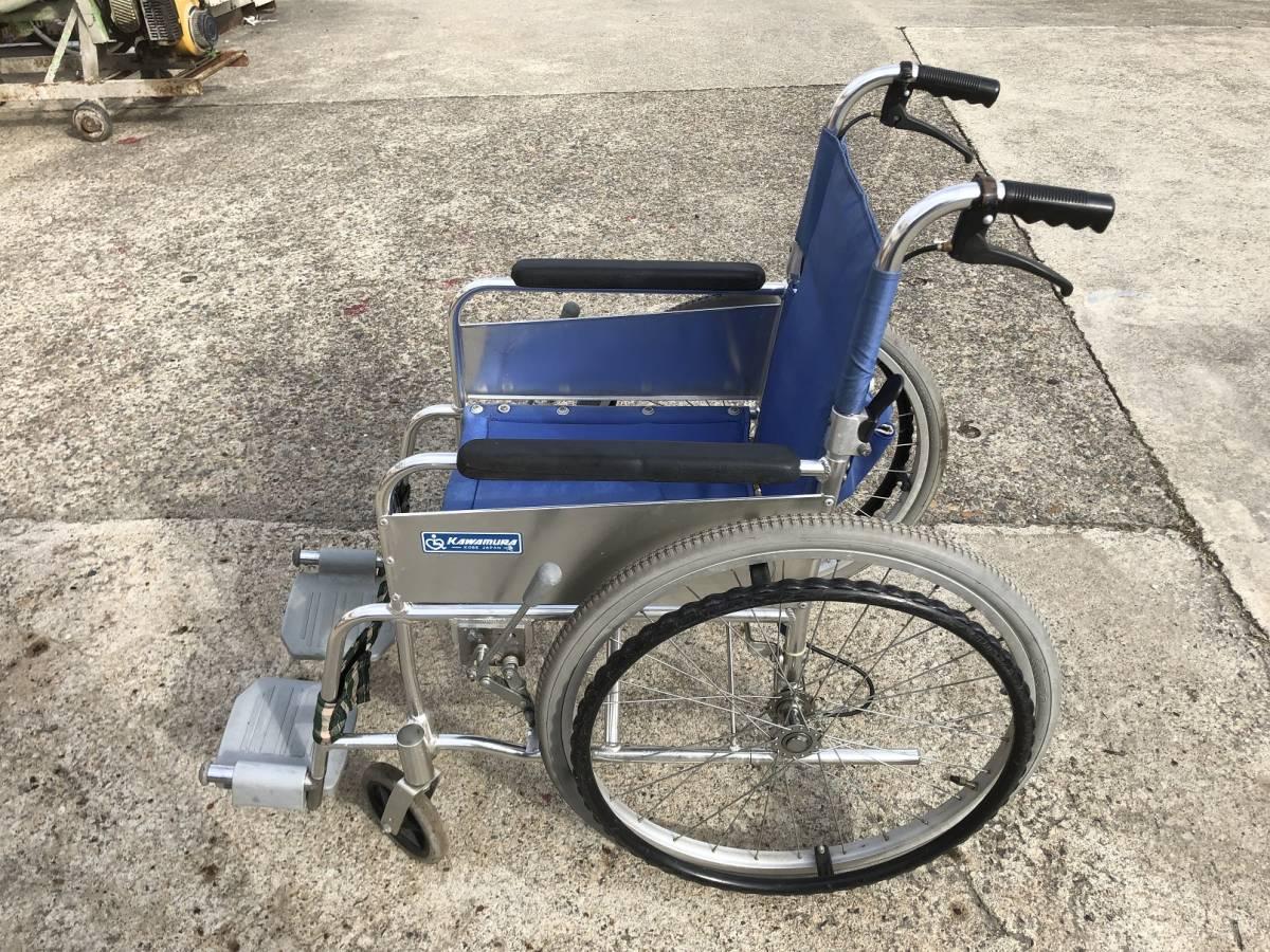TE836 KAWAMURA カワムラサイクル 介助 車いす 車椅子 車イス_画像3
