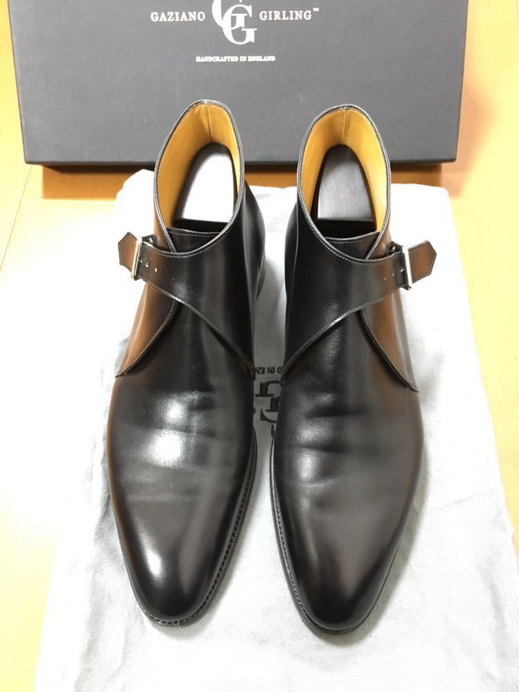 阪急メンズ館購入 レシート付き ガジアーノ & ガーリング ブーツ 定価226800 ベルルッテ