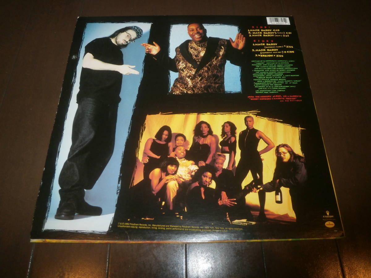 BOBBY KONDERS & MASSIVE SOUNDS feat MIKEY JARRETT / MACK DADDY /RAGGA HIP HOP/ダンスホール/RUB-A-DUB MARKET/DJ URUMA _画像2