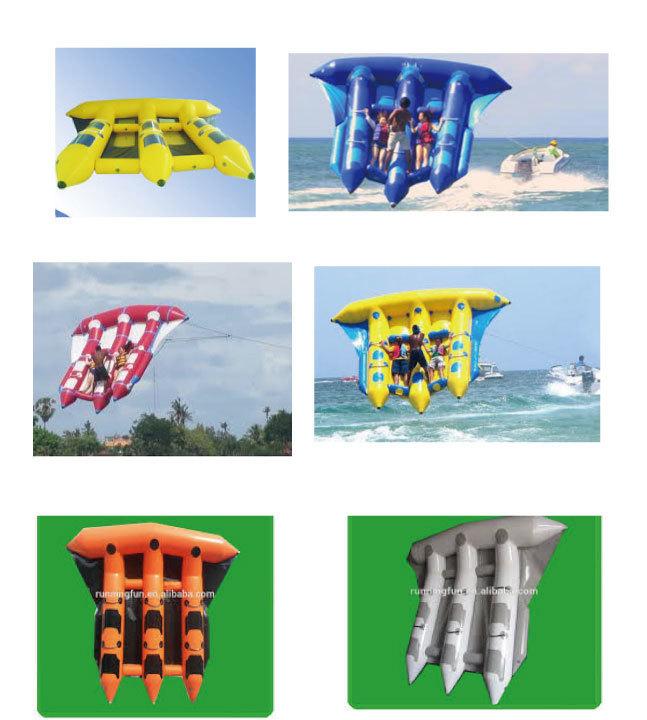 空飛ぶバナナボートです。思いっきり楽しんで!_画像5