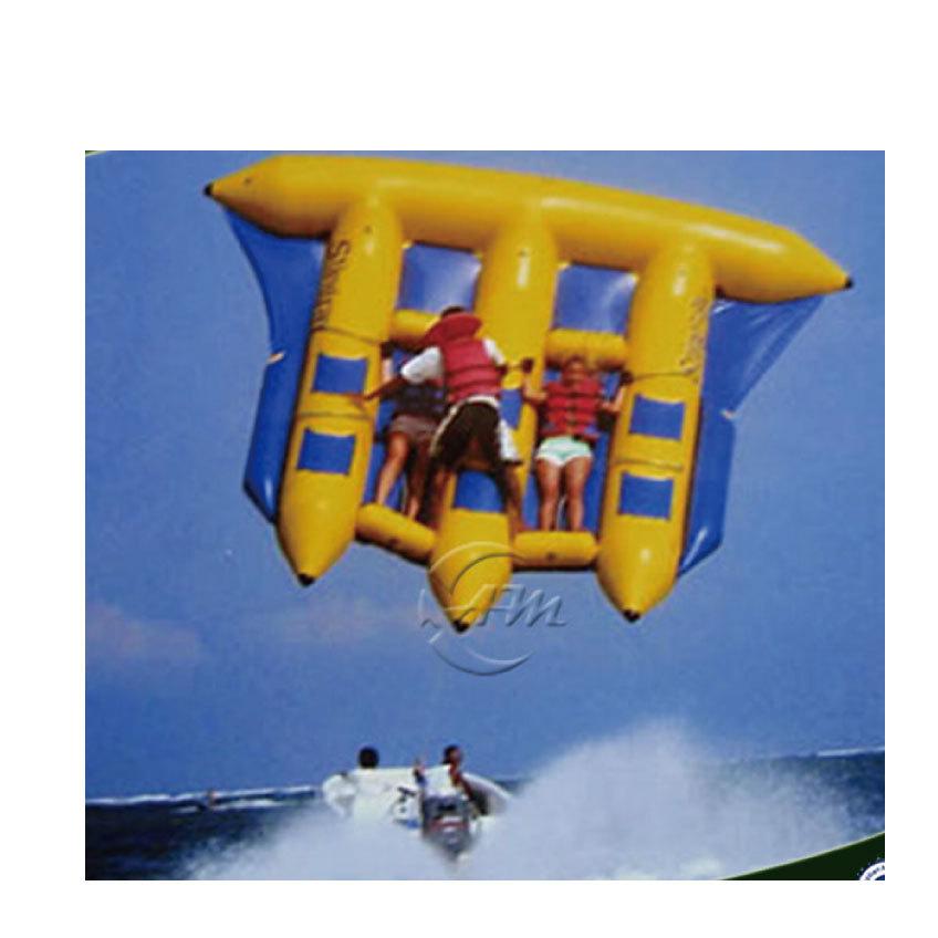 空飛ぶバナナボートです。思いっきり楽しんで!_画像4