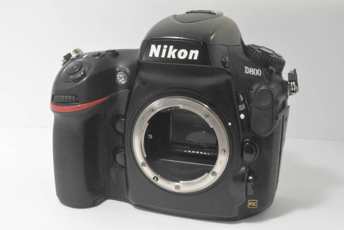 箱付き★極上美品★ニコン NIKON D800 ボディ_画像2