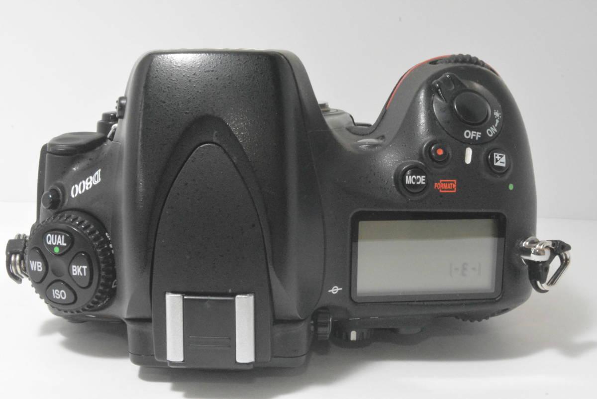 箱付き★極上美品★ニコン NIKON D800 ボディ_画像5