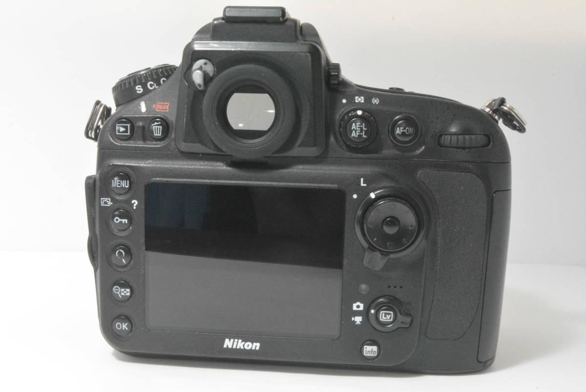 箱付き★極上美品★ニコン NIKON D800 ボディ_画像6