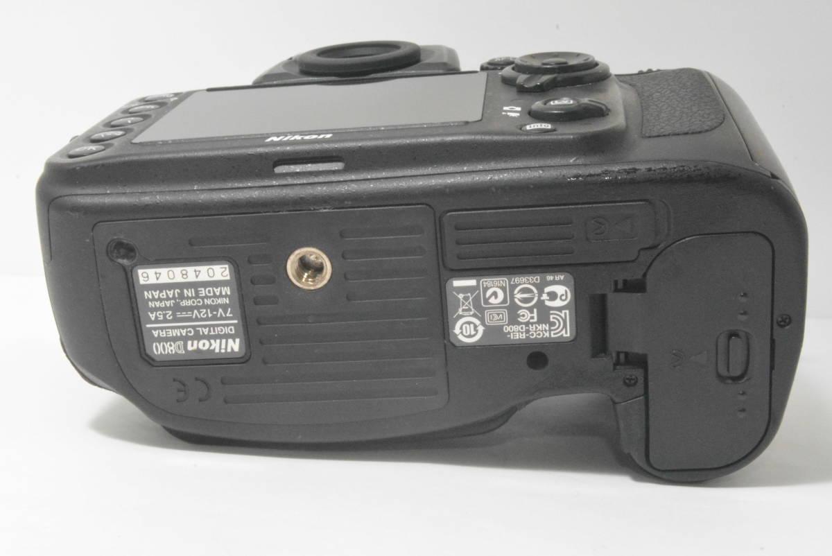 箱付き★極上美品★ニコン NIKON D800 ボディ_画像7
