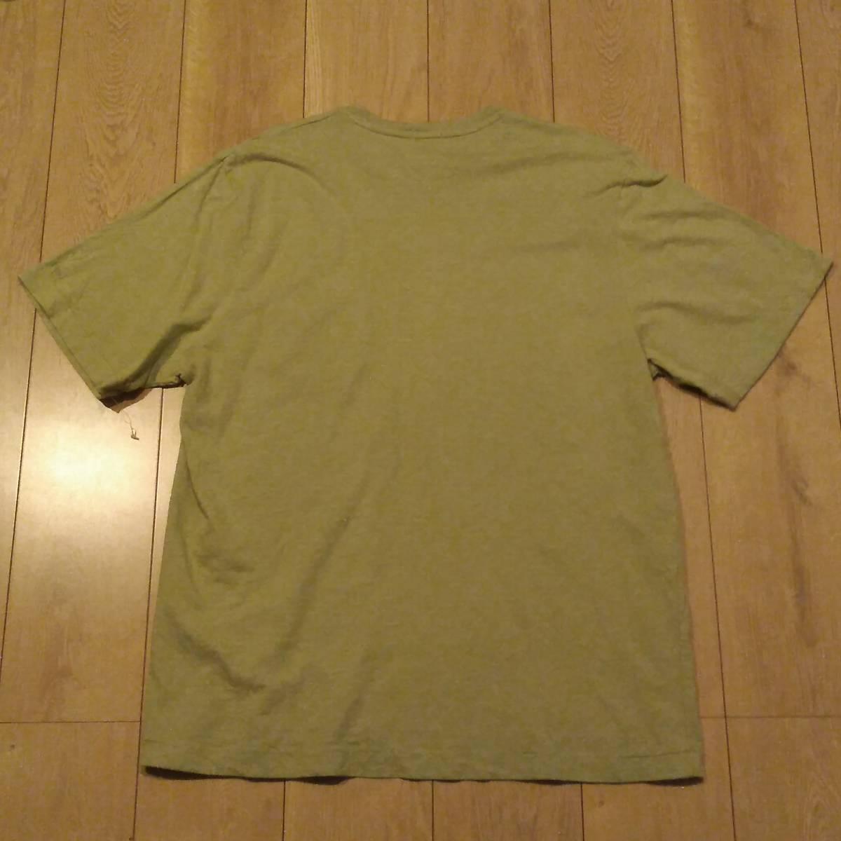USA古着卸 AMERICAN EAGLE アメリカンイーグル 胸ポケ Tシャツ XL_画像2