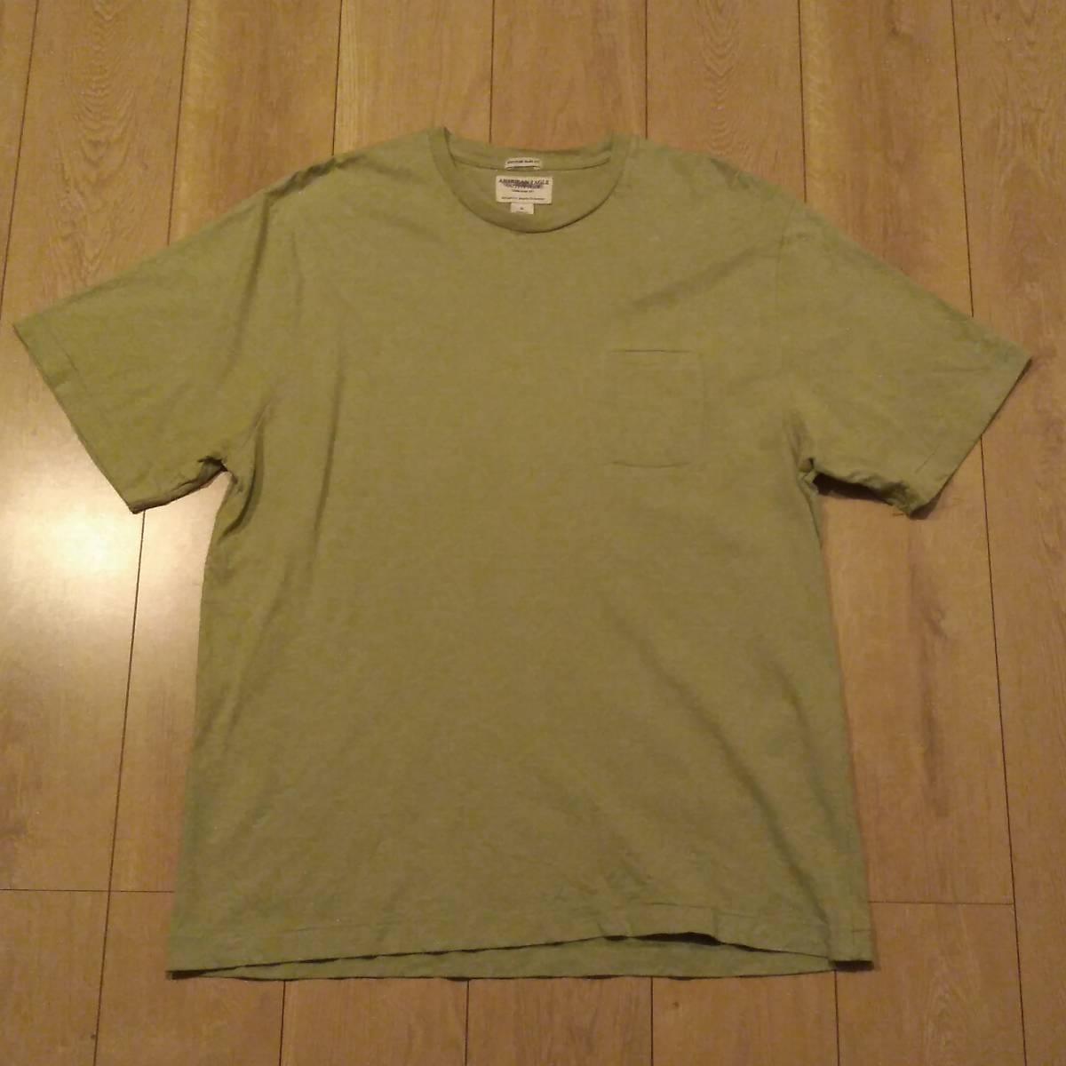 USA古着卸 AMERICAN EAGLE アメリカンイーグル 胸ポケ Tシャツ XL_画像1