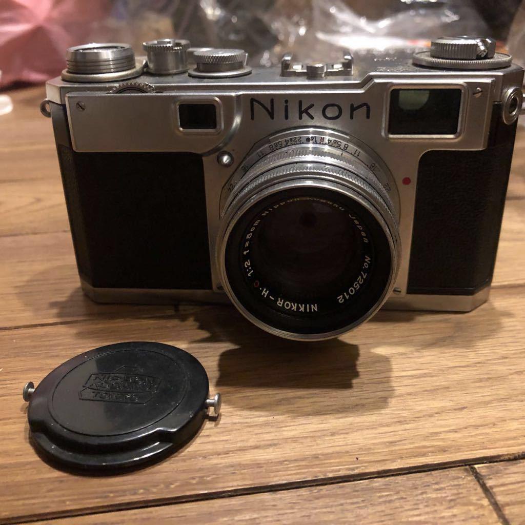 希少 NIPPON KOGAKU Nikon フィルムカメラ ヴィンテージ シャッター巻き上げ動作確認 中古 ジャンク