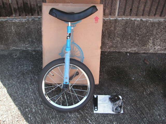 一輪車 ヨコタ製 サイズ16 スポークタイプ 当時物 在庫品 _画像1