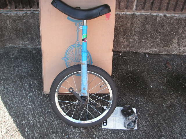 一輪車 ヨコタ製 サイズ16 スポークタイプ 当時物 在庫品 _画像2