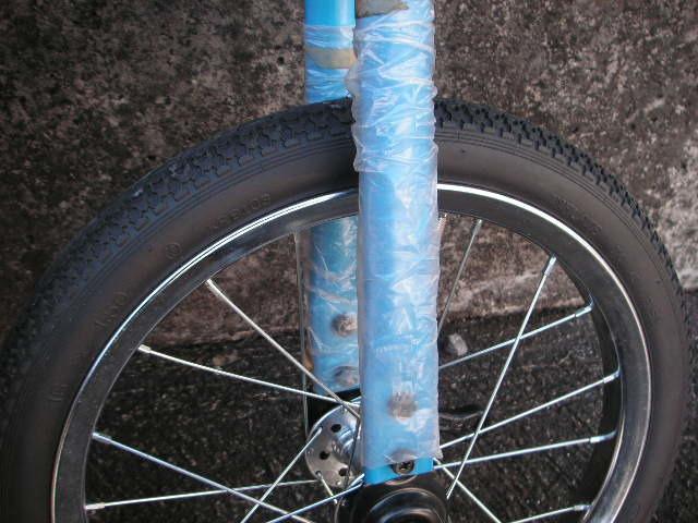 一輪車 ヨコタ製 サイズ16 スポークタイプ 当時物 在庫品 _画像6