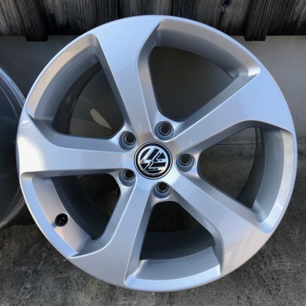 【新車外し】VW フォルクスワーゲン ゴルフ7 GTI 17インチ純正ホィール4本セット_画像5