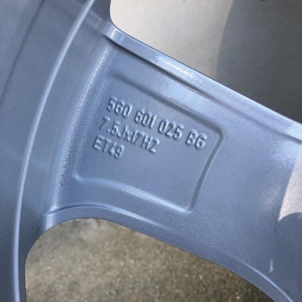 【新車外し】VW フォルクスワーゲン ゴルフ7 GTI 17インチ純正ホィール4本セット_画像10