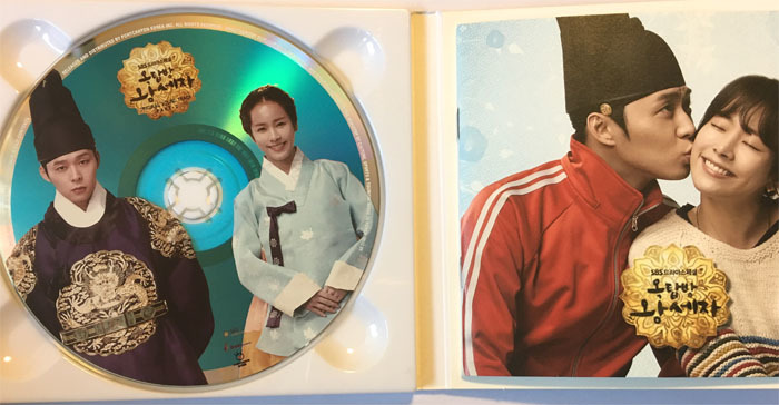 JYJ【ユチョン】直筆サイン入り★屋根部屋の皇太子OST_画像2